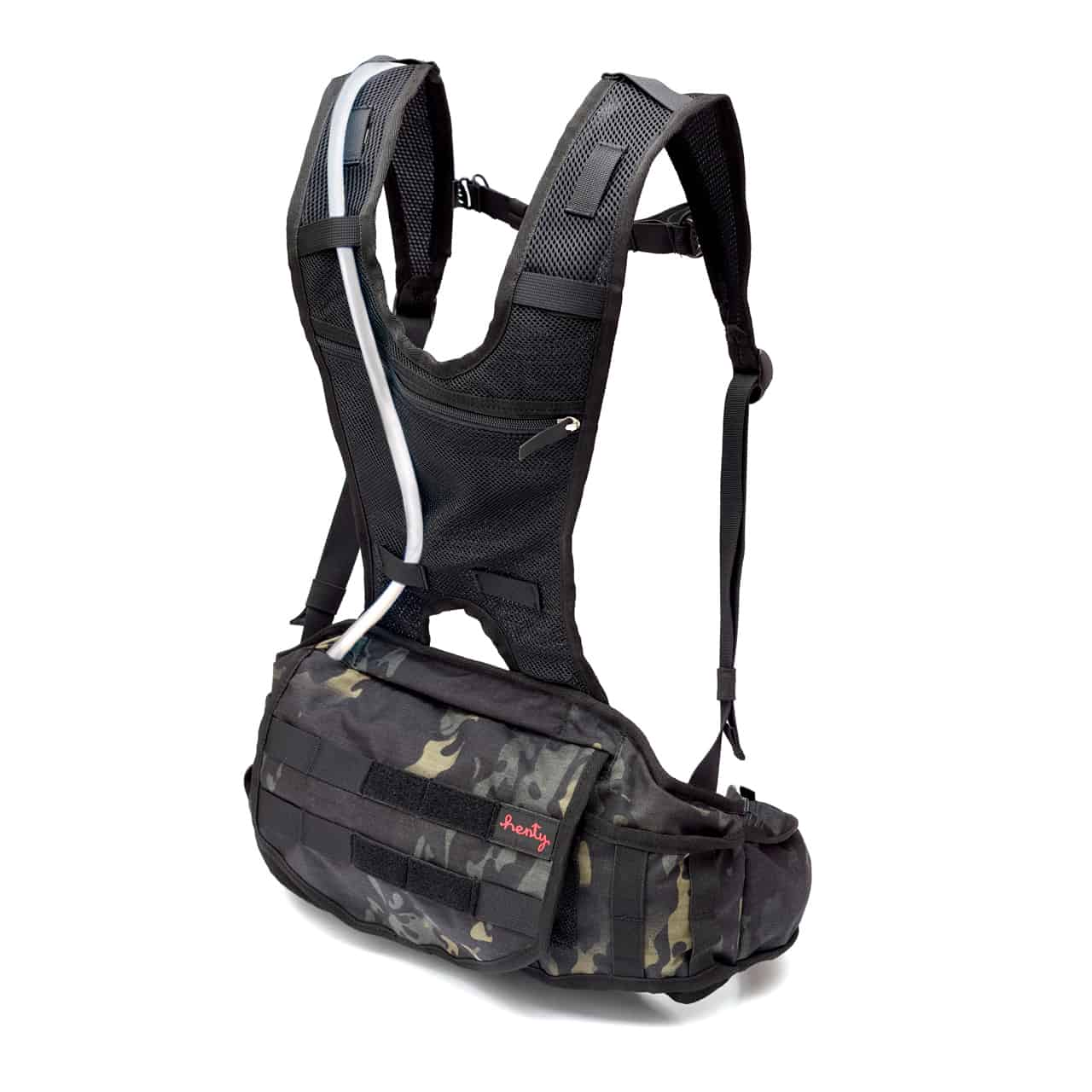 Suitable for Webbing on The Backpack up to 25MM Amlrt Backpack Chest Strap Dark Blue Nylon